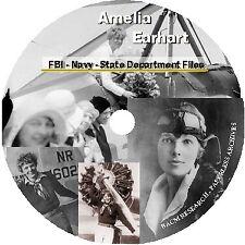 Amelia Earhart FBI - Navy - State Department Files