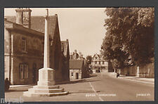 Postcard Winchcombe near Cheltenham Gloucestershire war memorial old RP Judges