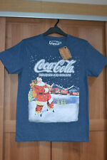 Coca Cola Christmas Truck T Shirt BNWT Holidays Are Coming Small S 89-94 35-37