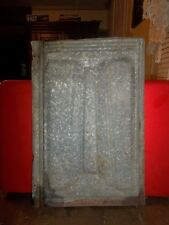 Antique Tin Roofing Shingle 1890 Fluer De Lis Architectural Salvage