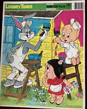 Looney Tunes Extra Thick Frame Puzzle