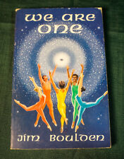 """James Boulden """"We Are One"""" 1980 Softcover Book -Rare Out of Print"""