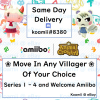 Animal Crossing New Horizons Move in - Choose any villagers SAME DAY DELIVERY
