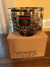 NWT Yankee Candle Metal Porter/Jackson Jar Candle Shade
