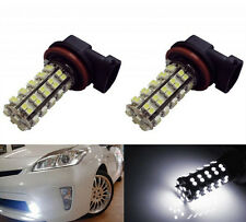 2pcs H8 H11 68SMD White LED Bulb Lamp Car Fog light Daytime Driving Light 12V US