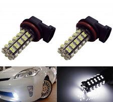 2pcs H8 H11 68SMD White LED Bulb Lamp Car Fog light Daytime Driving Light 12V US