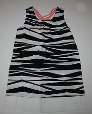 NEW Gymboree Black Zebra Print Sleeveless Dress NWT 4 6 7 10 Animal Party Line