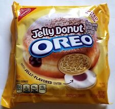 NEW Nabisco Oreo Jelly Donut Limited Edition Cookies FREE WORLDWIDE SHIPPING