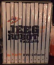 DVD - JEEG ROBOT D'ACCIAIO - 12 DVD SERIE COMPLETA
