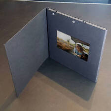 "Video 4.3"" LCD greeting card BLACK invitation chip sound music voice talk music"