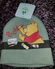 Boys winnie the pooh beah beanie size 0-3 months