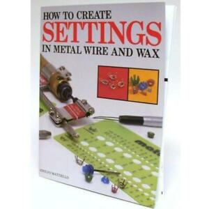 How To Create Settings In Metal Wire And Wax by Adolfo Mattiello