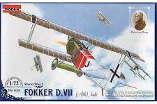 RODEN 035 1/72 Fokker D.VII (Alb), Late