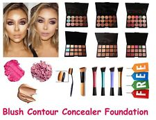 New 15 Colors Concealer & Corrector Palette Face Makeup Cream Contour+Free Brush