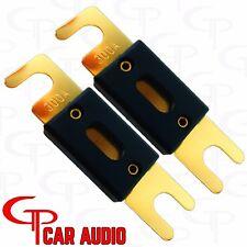 (2) 500 AMP ANL Fuses GP Car Audio