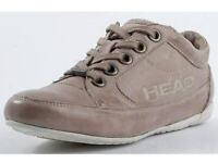 Head Damenschuhe Sneaker Leder Halbschuihe beige Gr.36-42 180118 Neu14