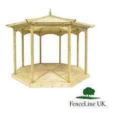 'Regis' Garden Gazebo - Octagonal - Wooden - Bandstand