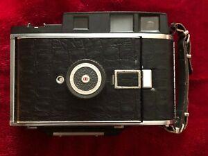 4x5 inch Converted Polaroid 110B&focusing glass&1 Wray made Graflex holder