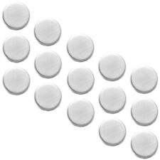 Kühlschrankmagnete 15er-Set Magnet Pinnwand Magnetset Rundmagnete Edelstahl