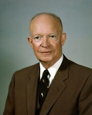 8x10 Photo Dwight D. Eisenhower 34th President of The United States