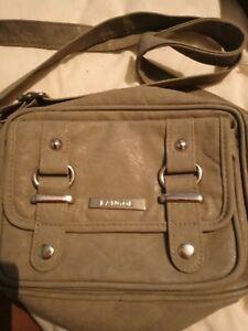 Grey Kangol Satchel Bag Cross Body