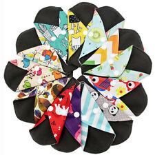 1-5pcs Reusable Bamboo Cloth Washable Menstrual Pad Mama Sanitary Towel Pad