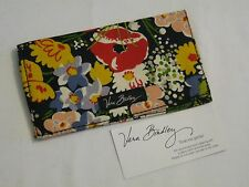 Vera Bradley POPPY FIELDS Checkbook COVER Case For Purse TOTE Backpack BAG  NWOT