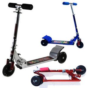 MONOPATTINO per bambini 3 ruote sistema TWIST peso max 50 kg richiudibile
