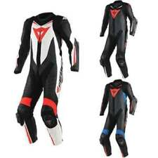 Tute in pelle e altri tessuti traspirante Dainese in pelle bovina per motociclista