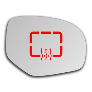 Suzuki Swift 2010 - 2017 Right Side Clip On Heated Mirror Glass 0368RSHP