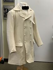 "Civil War 19th century - Off-White wool Paletot Frock Coat Sz 40""-42"" chest New"