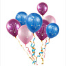 10pcs 1st Latex Ballons Boy Girl Balloons Baby Shower Decoration Party Supplies
