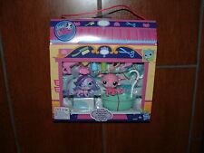 Littlest Pet Shop Gettin 'Glam Playset Zoe Trent & Minka Mark 3607 3608