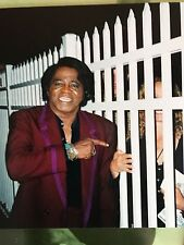 JAMES BROWN SIGNED 8x10 w/ PROOF PROFESSIONALLY FRAMED GODFATHER OF SOUL music