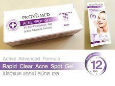 Provamed Acne Spot cream Gel F cystic pimple Clear skin face care treatment 5ml.