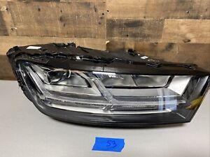 2017 2018 2019 Audi Q7 LED Headlight RH Right Passenger Side