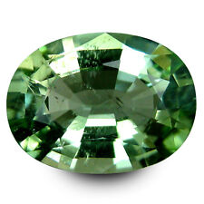 3.53 Cts Wonderful Rich Luster Natural Beryl Oval Shape Mint Green Color