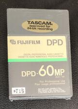 5x Lot NEW Fujifilm DPD-60MP Digital Audio Cassette Tapes DTRS Pro DAT TASCAM