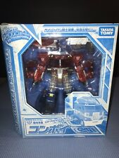 Takara Transformers Henkei Crystal Convoy Clear Version Optimus Prime C-01 Mint
