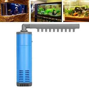 Multipurpose 220V Aquarium Internal Filter Submersible Water Pump Tank Filter