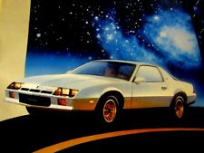 1984 Camaro Welcome Aboard Starship-Berlinetta 2 page Original Print Ad