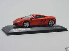 Modellini statici di auto, furgoni e camion arancione per McLaren scala 1:43