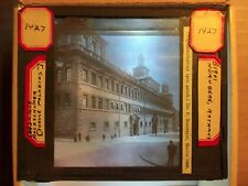 Dr. Franz Stoedtner Glass Photography Slide - Nuremberg Rathaus - 1908 - 102
