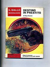 Day Keene # DESTINO IN PRESTITO # Mondadori 1967 N.945
