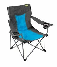 Kampa Cocktail Folding Beach Low Chair - Blue