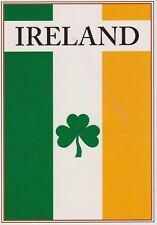 postcard post card IRELAND IRISH CLOVER