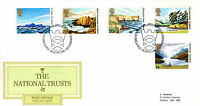 24 JUNE 1981 NATIONAL TRUSTS POST OFFICE FIRST DAY COVER BUREAU SHS
