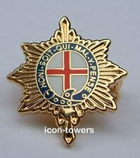 COLDSTREAM GUARDS BADGE - Enamel - Safety Pin Fixing - Excellent Quality