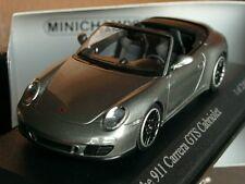 Minichamps Porsche 911 Carrera GTS Cabrio grau-met. 410 060130 - 1:43