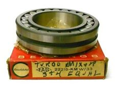 """CONSOLIDATED BEARING 22215HLASK, FAG #22215-KM W/33, ~5 1/8"""" OD, 3"""" ID, 1 1/4"""" T"""